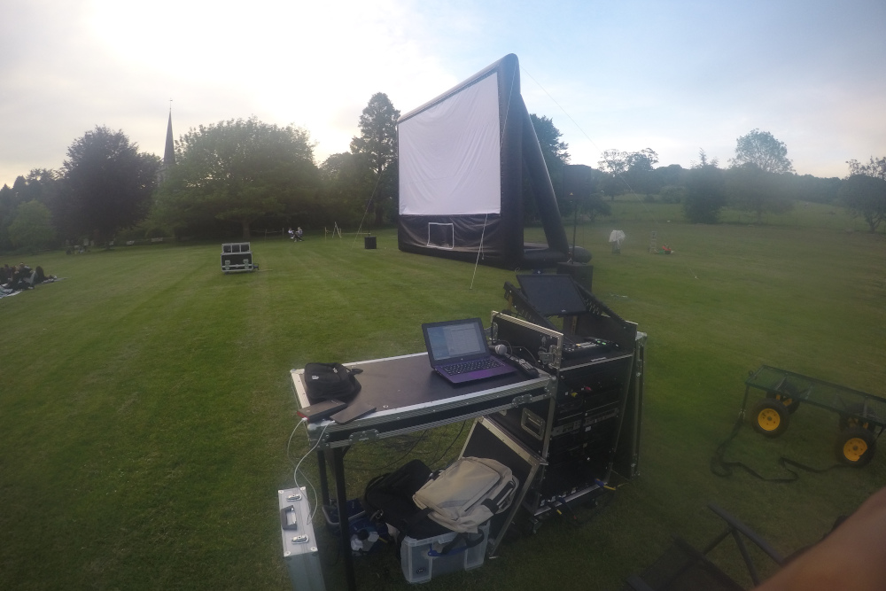 Large Outdoor Screen 2
